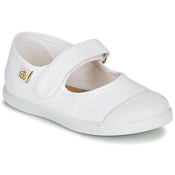 kengät Lapset Balleriinat Citrouille et Compagnie APSUT Valkoinen