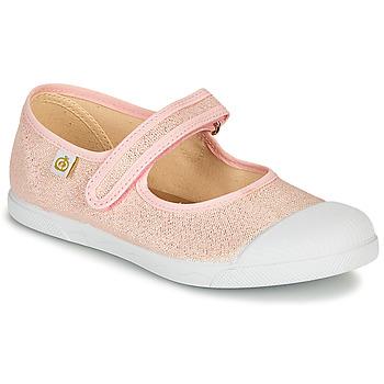 kengät Tytöt Balleriinat Citrouille et Compagnie APSUT Vaaleanpunainen