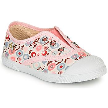 kengät Tytöt Matalavartiset tennarit Citrouille et Compagnie RIVIALELLE Pink / Multicolour