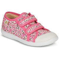 kengät Tytöt Matalavartiset tennarit Citrouille et Compagnie GLASSIA Pink / Multicolour