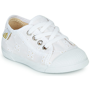 kengät Tytöt Matalavartiset tennarit Citrouille et Compagnie MALIKA White