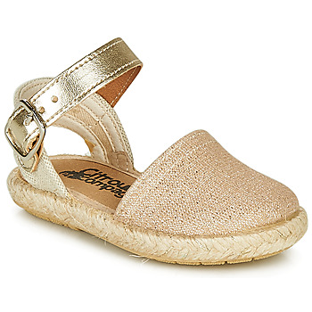 kengät Tytöt Sandaalit ja avokkaat Citrouille et Compagnie MIOSOTIS Kulta