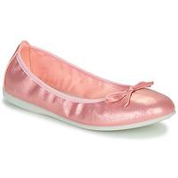 kengät Tytöt Balleriinat Citrouille et Compagnie INOBALI Vaaleanpunainen