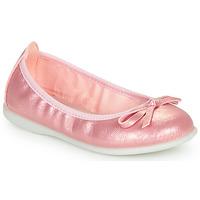 kengät Tytöt Balleriinat Citrouille et Compagnie INOBALI Pink
