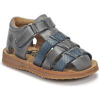 kengät Pojat Sandaalit ja avokkaat Citrouille et Compagnie MISTIGRI Grey / Blue