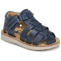 kengät Pojat Sandaalit ja avokkaat Citrouille et Compagnie MISTIGRI Laivastonsininen