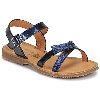 kengät Tytöt Sandaalit ja avokkaat Citrouille et Compagnie JISCOTTE Laivastonsininen