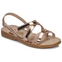 kengät Tytöt Sandaalit ja avokkaat Citrouille et Compagnie GENTOU Bronze / Glitter