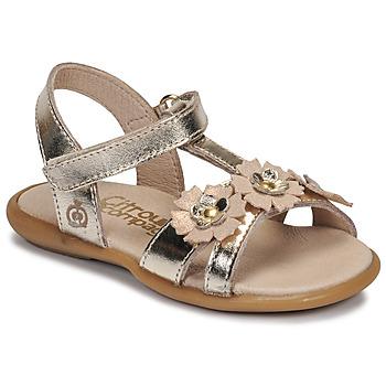 kengät Tytöt Sandaalit ja avokkaat Citrouille et Compagnie MARELLE Hopea