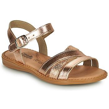 kengät Tytöt Sandaalit ja avokkaat Citrouille et Compagnie IZOEGL Pronssi