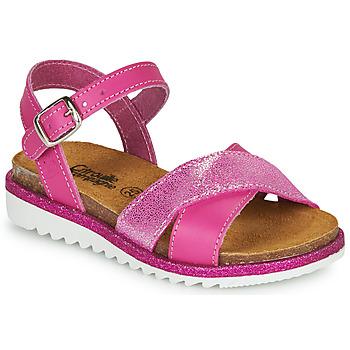 kengät Tytöt Sandaalit ja avokkaat Citrouille et Compagnie GAUFRETTE Pink