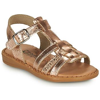 kengät Tytöt Sandaalit ja avokkaat Citrouille et Compagnie ROLUI Bronze
