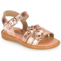 kengät Tytöt Sandaalit ja avokkaat Citrouille et Compagnie KATAGUE Bronze