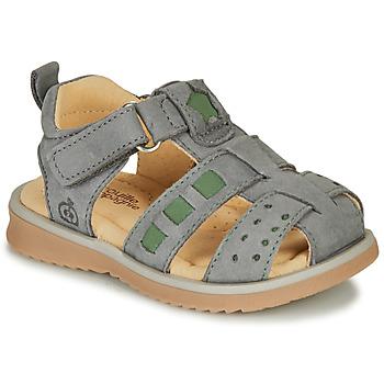 kengät Pojat Sandaalit ja avokkaat Citrouille et Compagnie MERKO Khaki