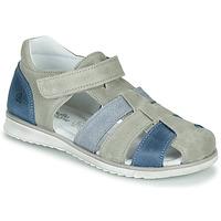 kengät Pojat Sandaalit ja avokkaat Citrouille et Compagnie FRINOUI Harmaa