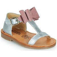 kengät Tytöt Sandaalit ja avokkaat Citrouille et Compagnie MELINDA Vaaleanpunainen / Kulta