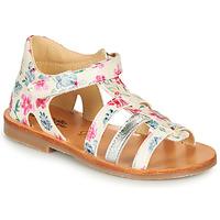 kengät Tytöt Sandaalit ja avokkaat Citrouille et Compagnie MIDINA Monivärinen