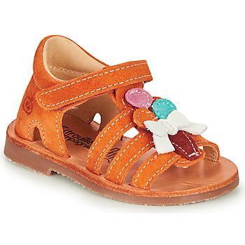kengät Tytöt Sandaalit ja avokkaat Citrouille et Compagnie MIETTE Orange