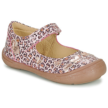 kengät Tytöt Balleriinat Citrouille et Compagnie JALIPINE Leopardi