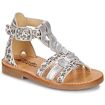 kengät Tytöt Sandaalit ja avokkaat Citrouille et Compagnie GITANOLO Leopardi
