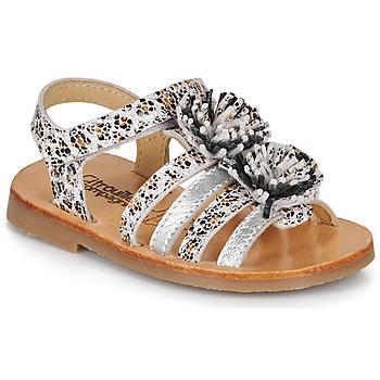kengät Tytöt Sandaalit ja avokkaat Citrouille et Compagnie MALINETTE Leopardi
