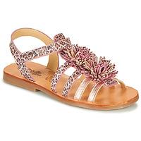 kengät Tytöt Sandaalit ja avokkaat Citrouille et Compagnie MARINAS Pink