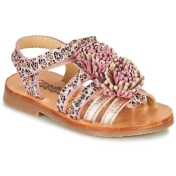 kengät Tytöt Sandaalit ja avokkaat Citrouille et Compagnie MARINAS Vaaleanpunainen
