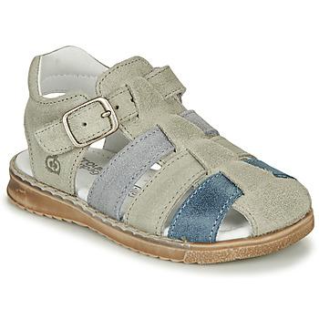 kengät Pojat Sandaalit ja avokkaat Citrouille et Compagnie ZIDOU Grey