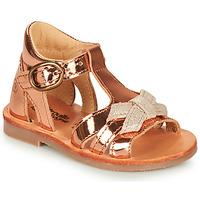 kengät Tytöt Sandaalit ja avokkaat Citrouille et Compagnie MINIMOME Bronze