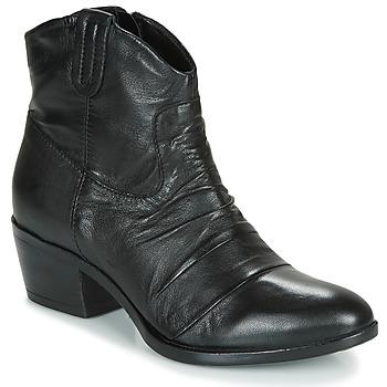 kengät Naiset Bootsit Mjus DALLAS-DALLY Black
