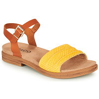 kengät Naiset Sandaalit ja avokkaat IgI&CO 5170711 Cognac / Yellow