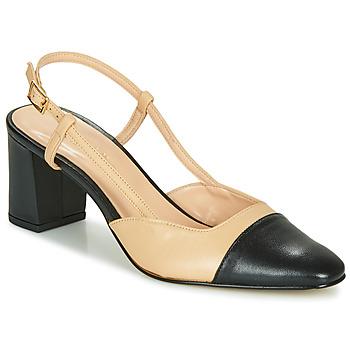 kengät Naiset Korkokengät Jonak DHAPOP Beige / Musta