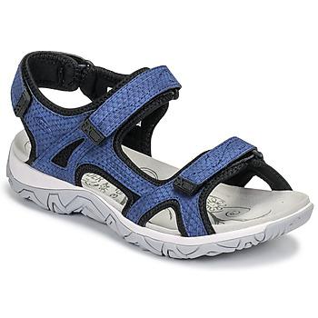 kengät Naiset Urheilusandaalit Allrounder by Mephisto LARISA Blue