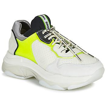 kengät Naiset Matalavartiset tennarit Bronx BAISLEY White / Yellow