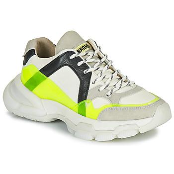 kengät Naiset Matalavartiset tennarit Bronx SEVENTY STREET White / Yellow