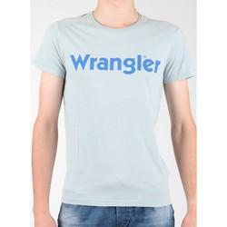 vaatteet Miehet Lyhythihainen t-paita Wrangler S/S Graphic Tee W7A64DM3E grey