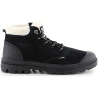 kengät Naiset Talvisaappaat Palladium Manufacture Pampa LO WT Mustat