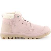 kengät Naiset Talvisaappaat Palladium Manufacture Pampa LO Vaaleanpunaiset