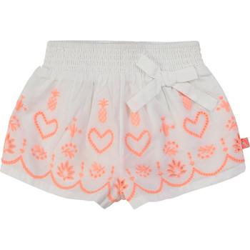vaatteet Tytöt Shortsit / Bermuda-shortsit Billieblush / Billybandit NEYO White