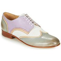 kengät Naiset Derby-kengät Melvin & Hamilton SALLY 15 Sininen / Valkoinen / Beige