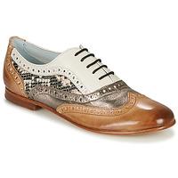 kengät Naiset Balleriinat Melvin & Hamilton SONIA 1 Brown / Beige