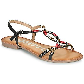 kengät Naiset Sandaalit ja avokkaat Gioseppo PARISH Black / Red
