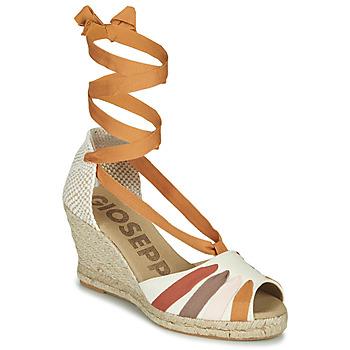 kengät Naiset Sandaalit ja avokkaat Gioseppo ARLEY Ecru / Sinappi