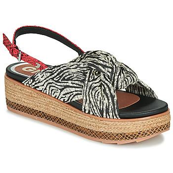 kengät Naiset Sandaalit ja avokkaat Gioseppo NEVELE Black / Red