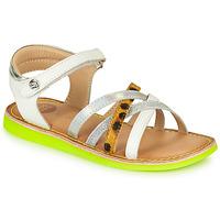 kengät Tytöt Sandaalit ja avokkaat Gioseppo STAGGIA White / Yellow