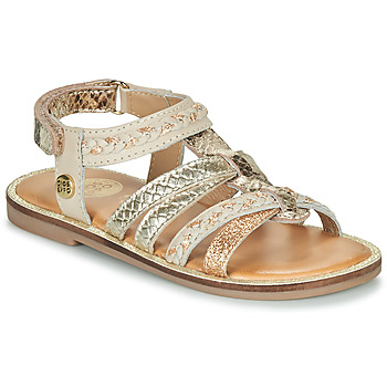 kengät Tytöt Sandaalit ja avokkaat Gioseppo PIGNOLA Beige / Kulta