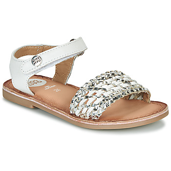 kengät Tytöt Sandaalit ja avokkaat Gioseppo VIETRI White / Hopea