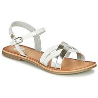 kengät Tytöt Sandaalit ja avokkaat Gioseppo GISTEL White / Hopea