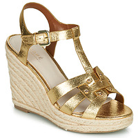 kengät Naiset Sandaalit ja avokkaat André PERLINE Kulta