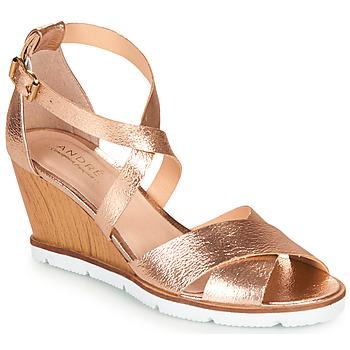 kengät Naiset Sandaalit ja avokkaat André PEONY Kulta
